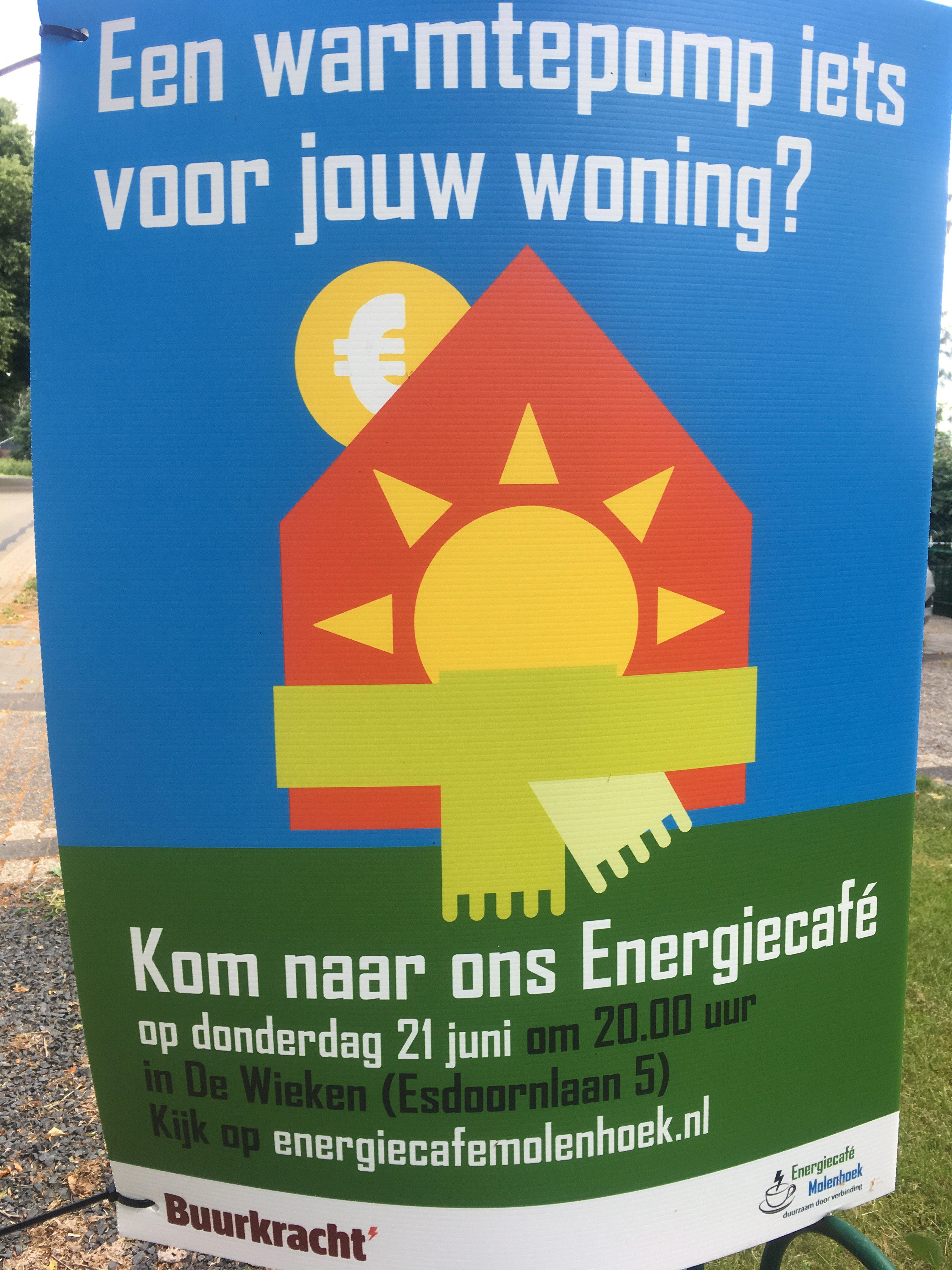 Kom naar Energiecafé #3 over warmtepompen