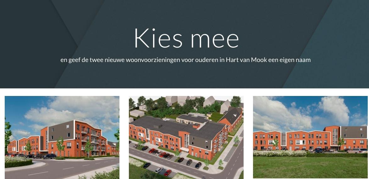 Stem voor de nieuwe naam voorzieningencentra Hart van Mook.