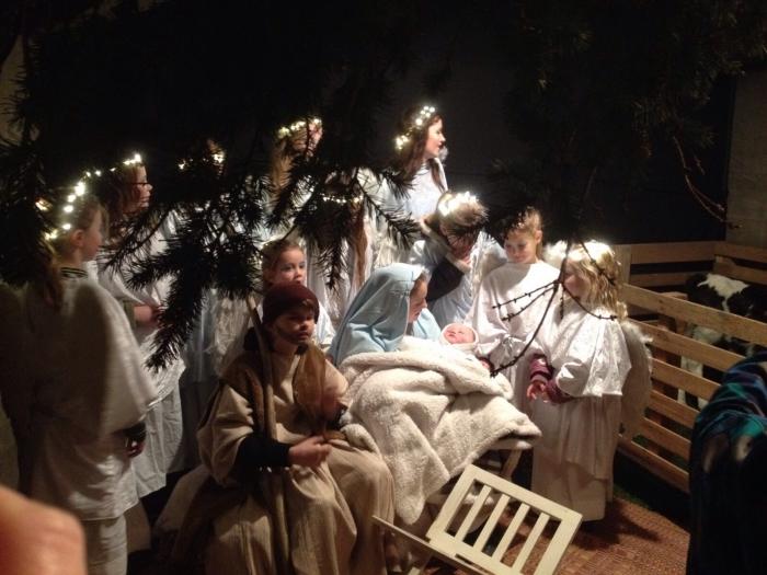 Zondag 17 december 18.00 uur lichtjesoptocht in Middelaar