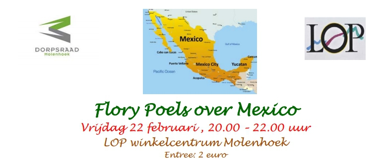 Lezing over Mexico door Flory Poels