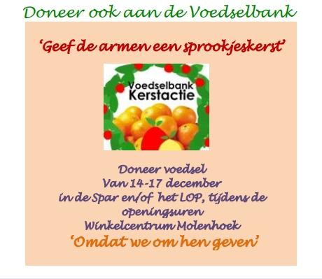 Donatie Voedselbank