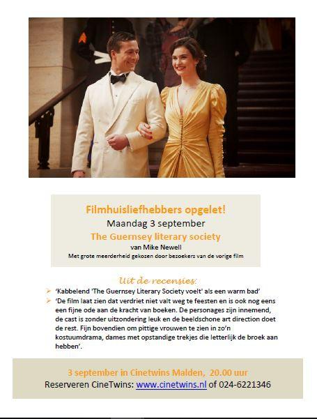 Film in Cinetwins Malden: 3 september