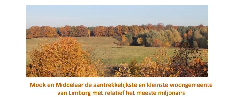 Mook aantrekkelijkste woongemeente van Limburg