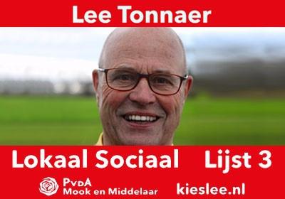 Hoe gaat het met... (7) Lee Tonnaer? Fractieleider PvdA Lokaal Sociaal