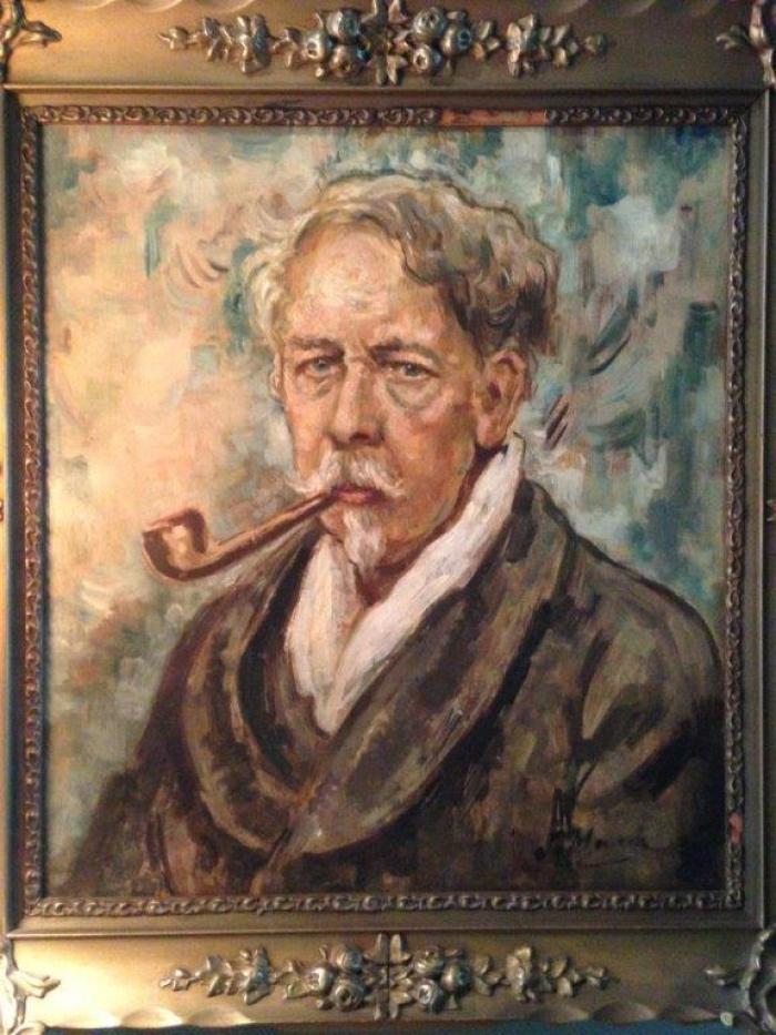 Weer een schilderij van Jacques van Mourik terug uit Canada